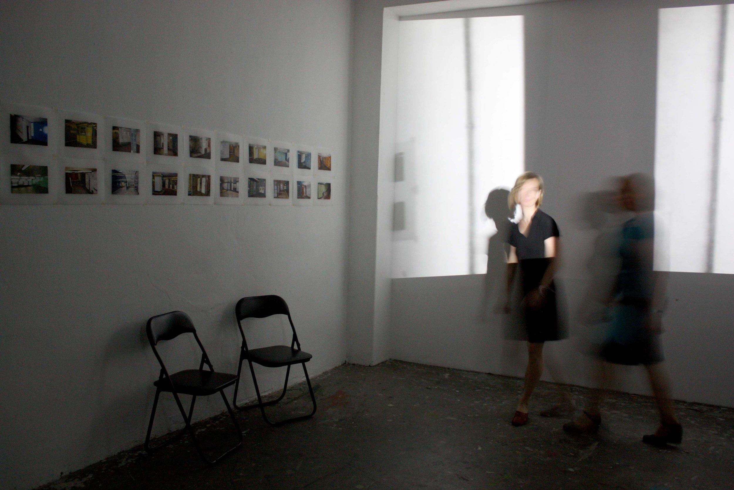 Floating Room (Berlin Studio), 2011,00:12:29 minute loop,color,no audio,installation view
