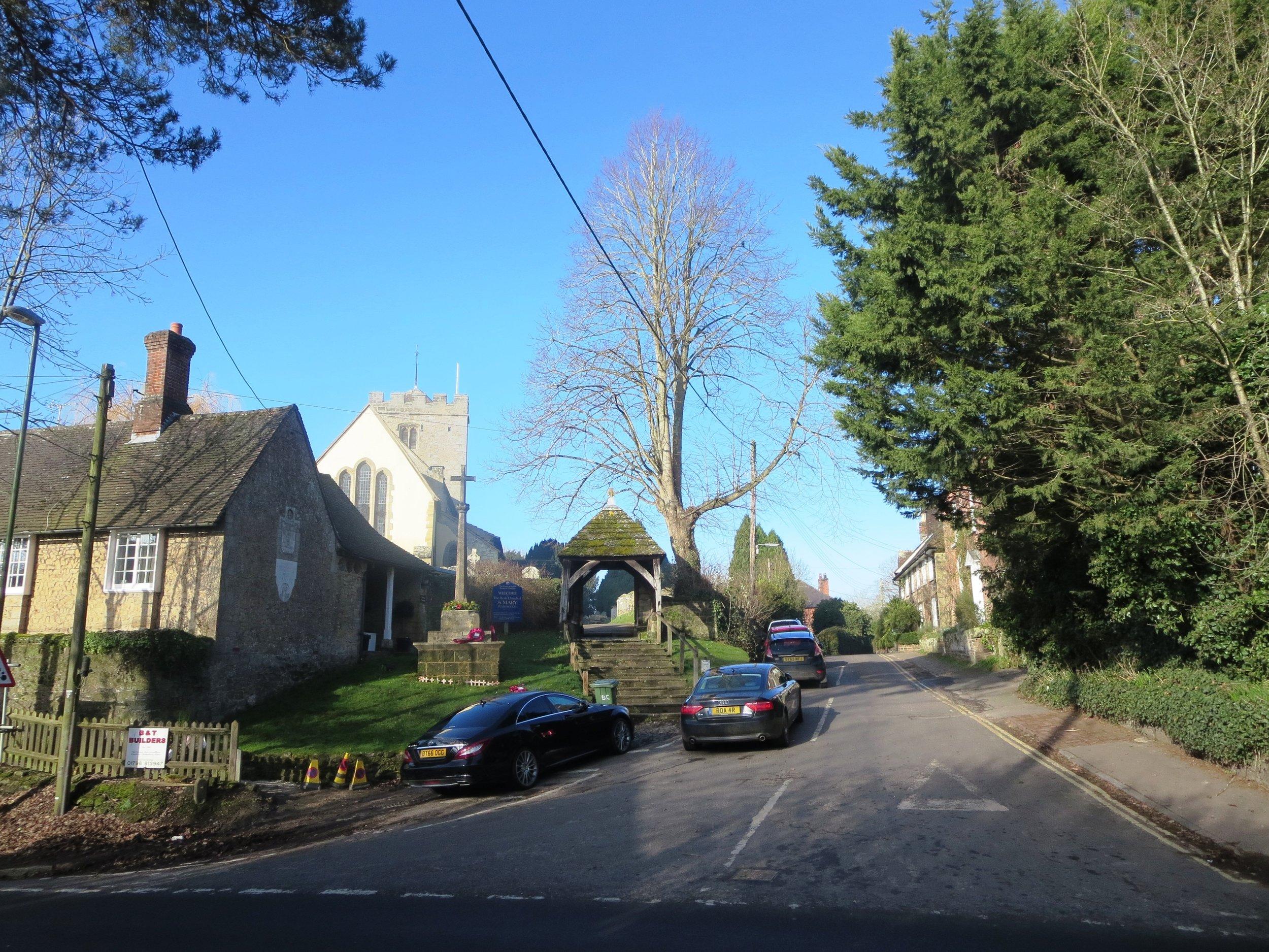 2018 - Feb - Houses in Church Place Pulborough.jpg