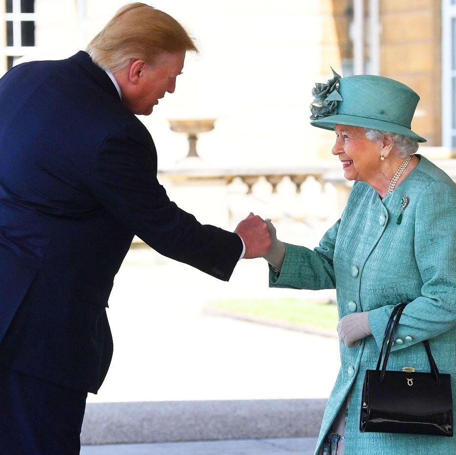 190605 HMQueen and President Trump.JPG