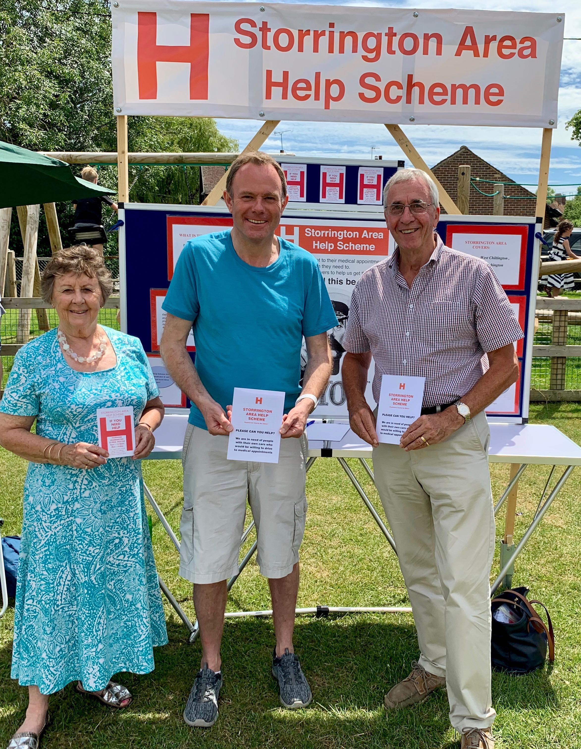 190809 NH with Storrington Area Help Scheme volunteers .jpeg