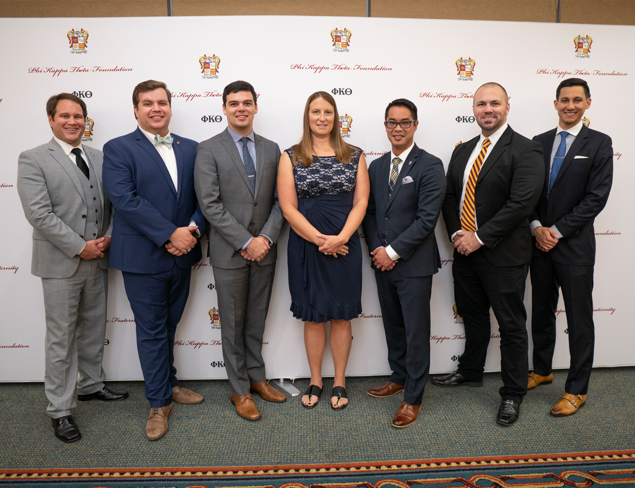 2018 Phi Kappa Theta Executive Office Staff.