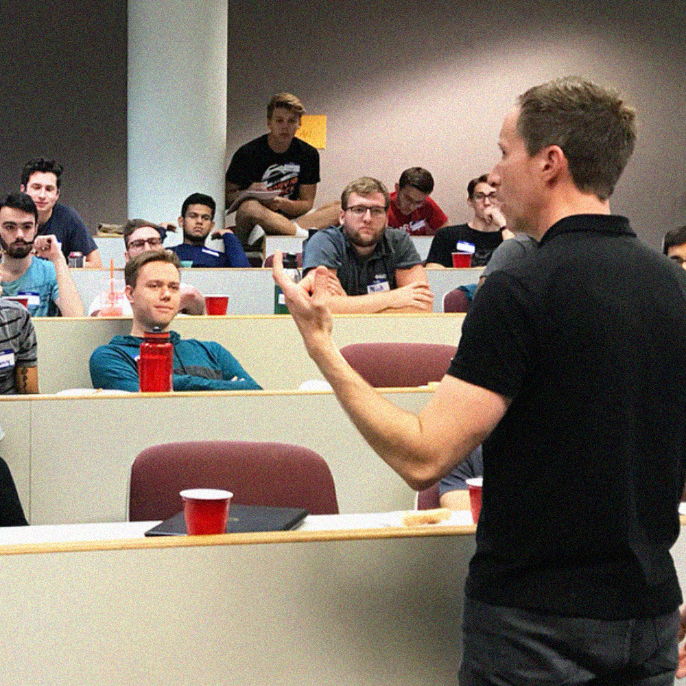 Dr. Brown formed a personalized program for our house. This program hit home with all the brothers, talking about individuals and their struggles and putting those things into perspective as a brotherhood. - Neil PatelRPI, '20Chapter President