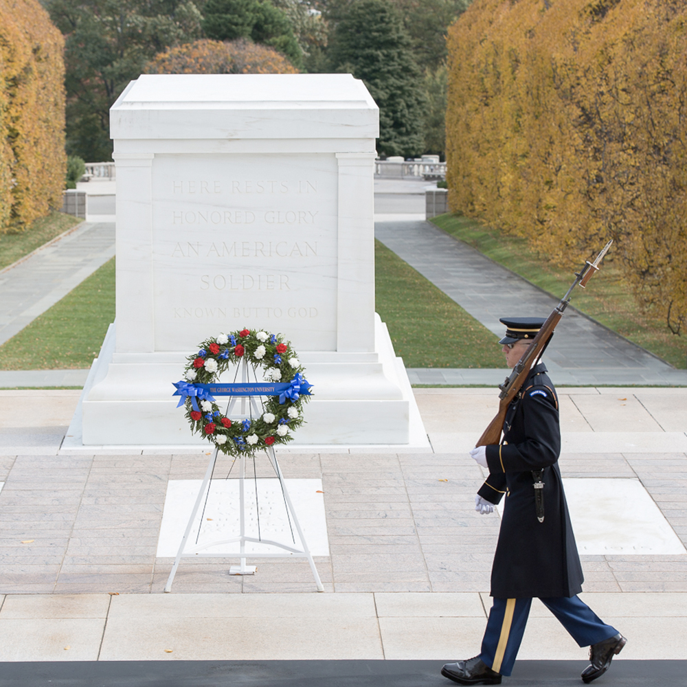 Tomb of the Unknown Soldier. Arlington Cemetery, (Fort Myer, VA) Washington D.C..