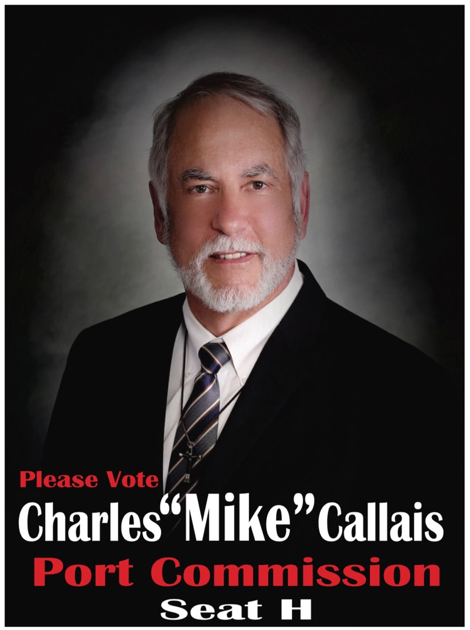 Ad for the Mike Callais campaign.
