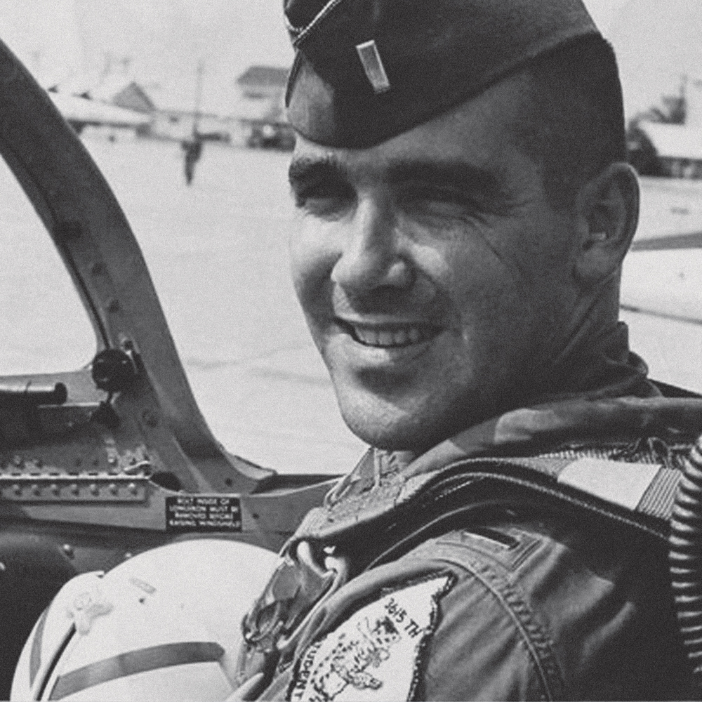U.S. Air Force pilot David T. Dinan III (Massachusetts Institute of Technology, '65).