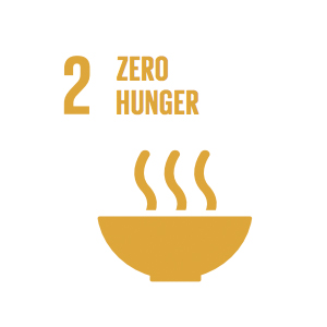 Goal 2: Zero Hunger   The food and agriculture sector offers key solutions for development, and is central for hunger and poverty eradication.