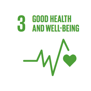 Goal 3: Good Health and Well-Being   Ensuring healthy lives and promoting the well-being for all at all ages is essential to sustainable development.