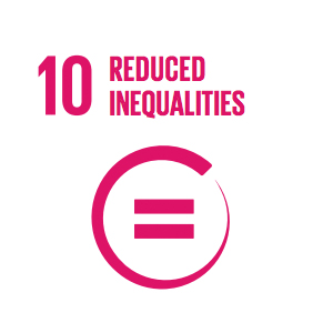 Goal 10: Reduced Inequalities   To reduce inequalities, policies should be universal in principle, paying attention to the needs of disadvantaged and marginalized populations.