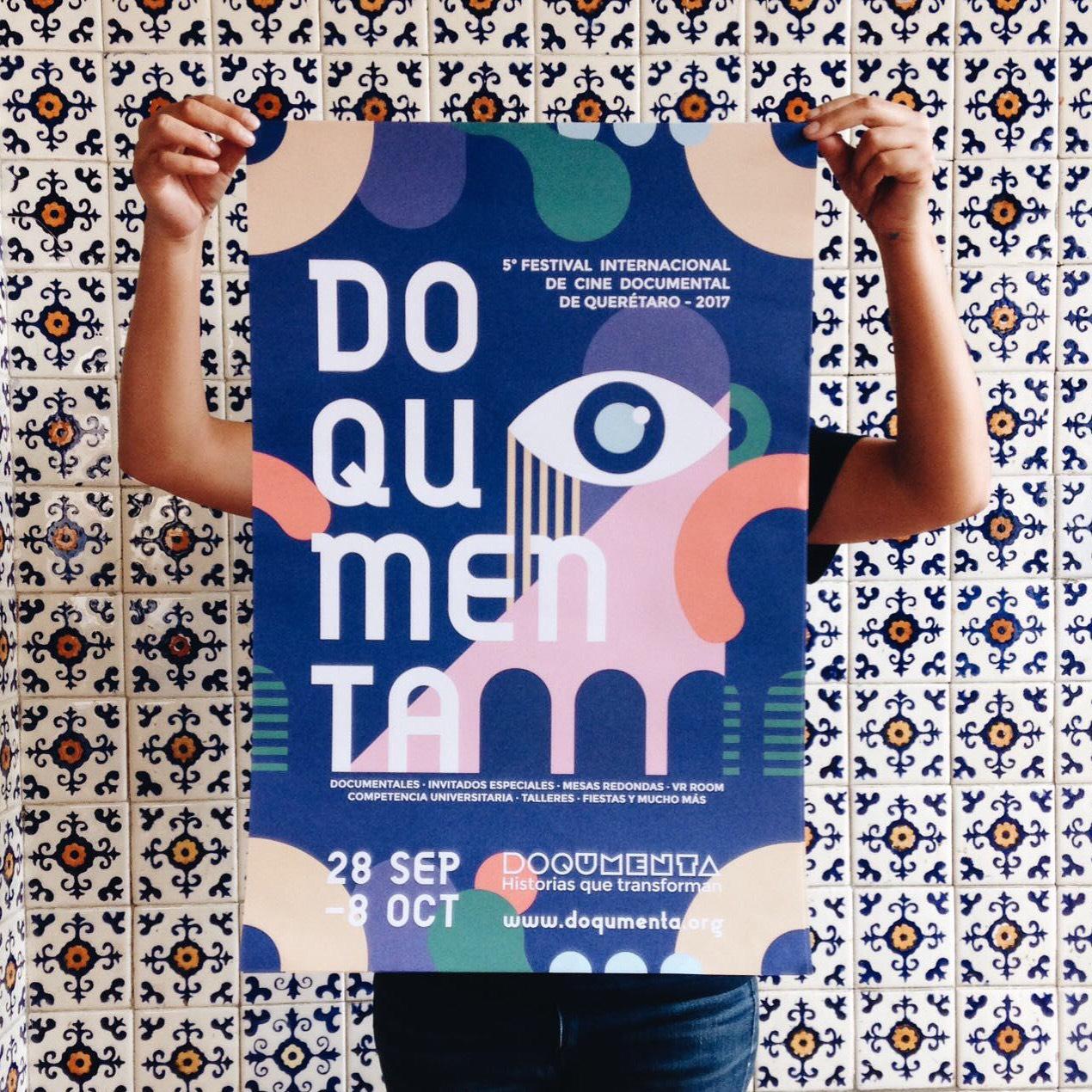 Diseño de la Identidad del  Festival DOQUMENTA 2017