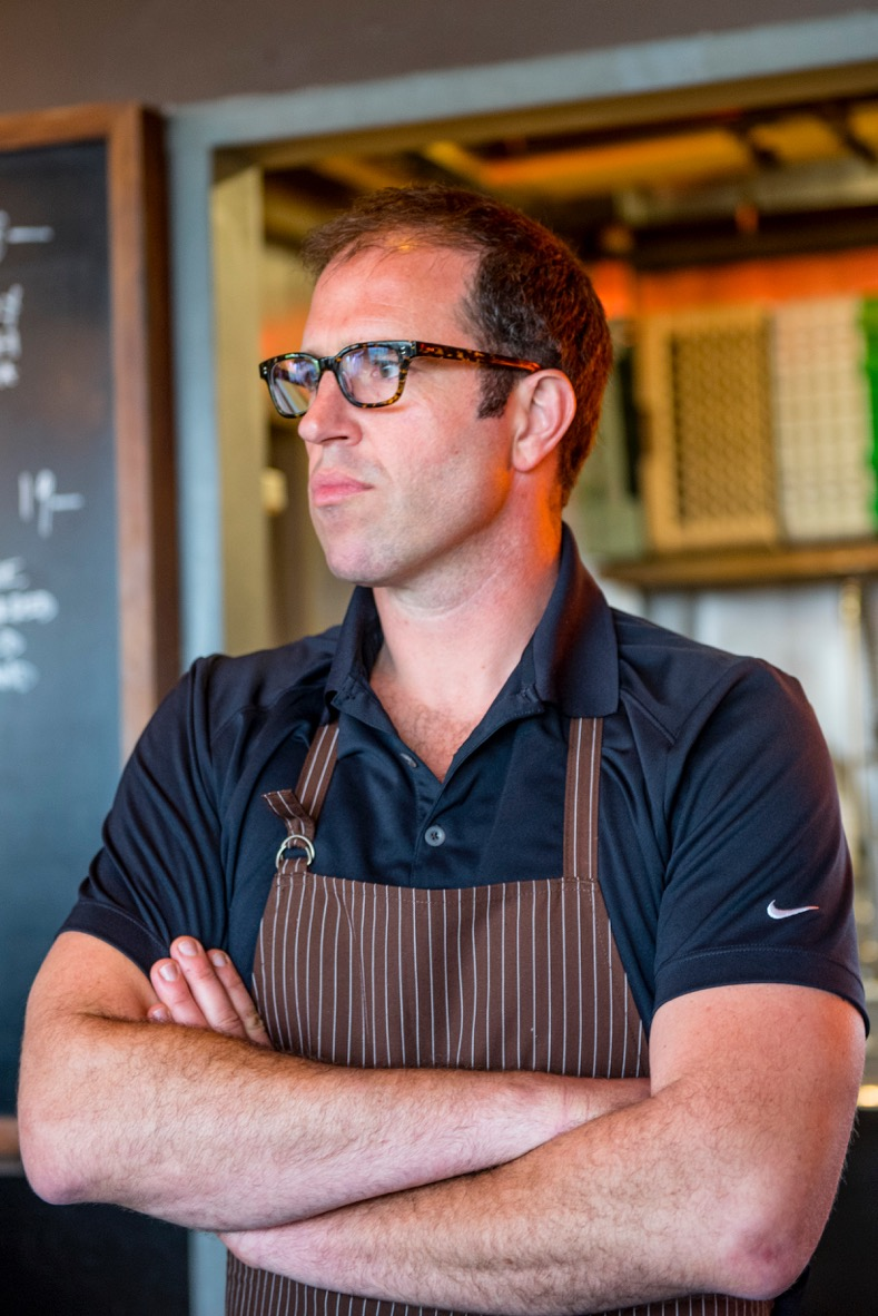 Leather Storrs - Chef/owner of Noble Rot| Maialata MC