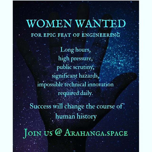 You know you wanna  #women #engineering #space #epic #reality