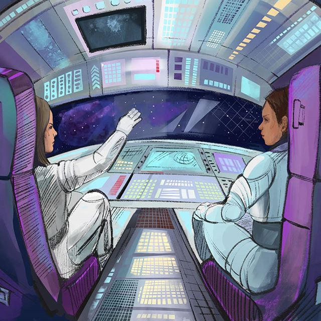 What if the entire crew of that first craft were women?  #space #women #newzealand #crew #paradigmshift