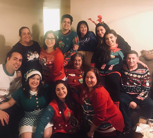 Ugly sweater crew 2017. Navidades en familia ❤️