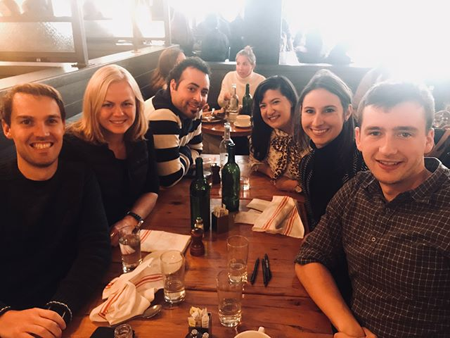 Starting 2018 the right way: By brunching with dear and new friends 💕