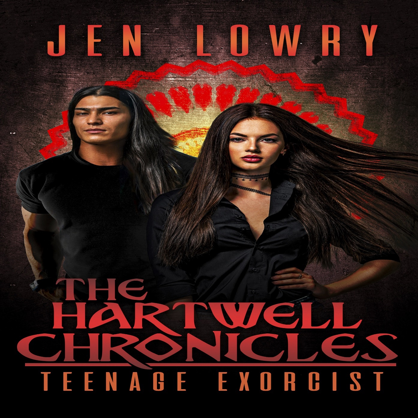 COMING THIS FALL! - Listen to Sheli narrate The Hartwell Chronicles: Teenage Exorcist by Jen Lowry