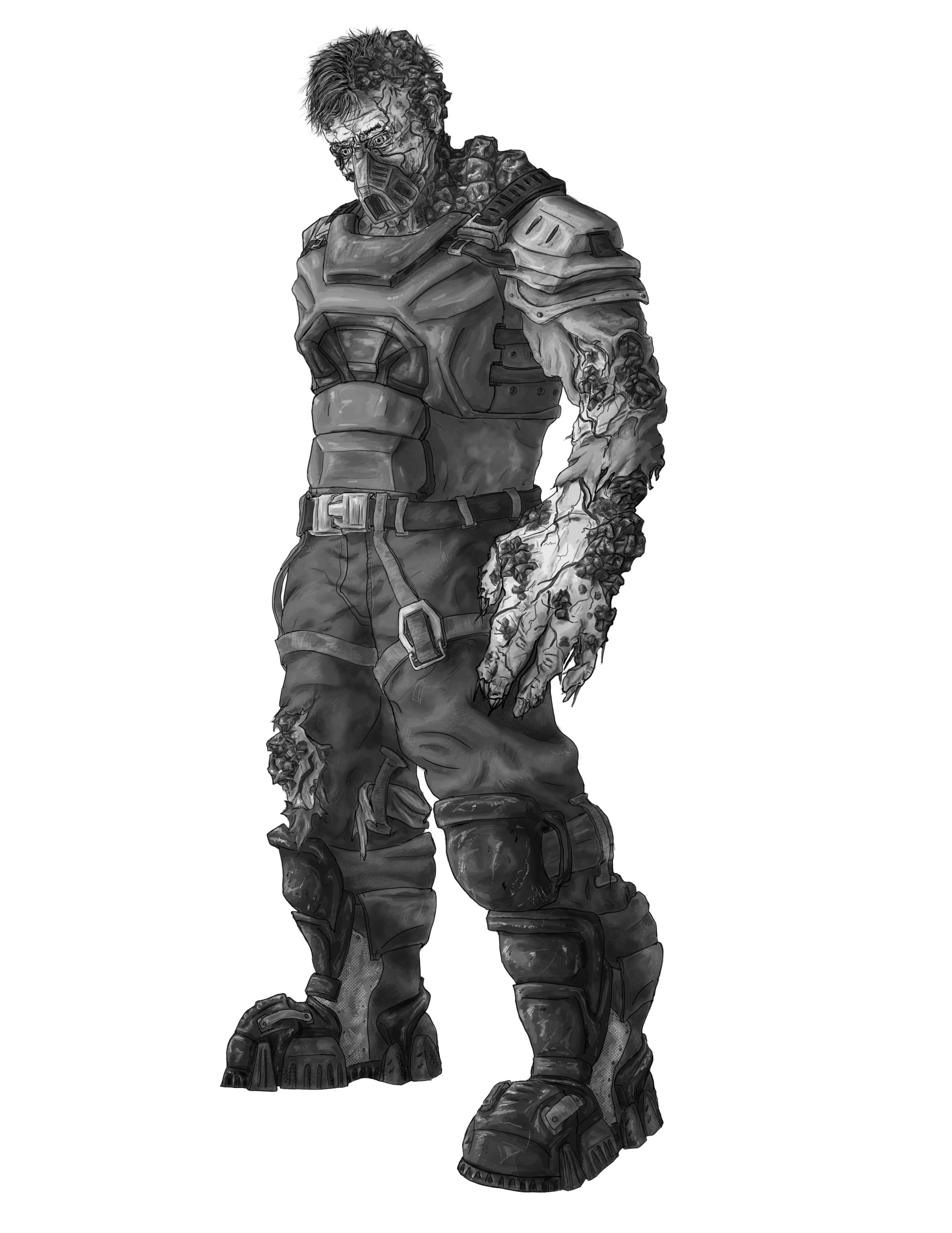 Enemy Soldier - Lower Level Grunt
