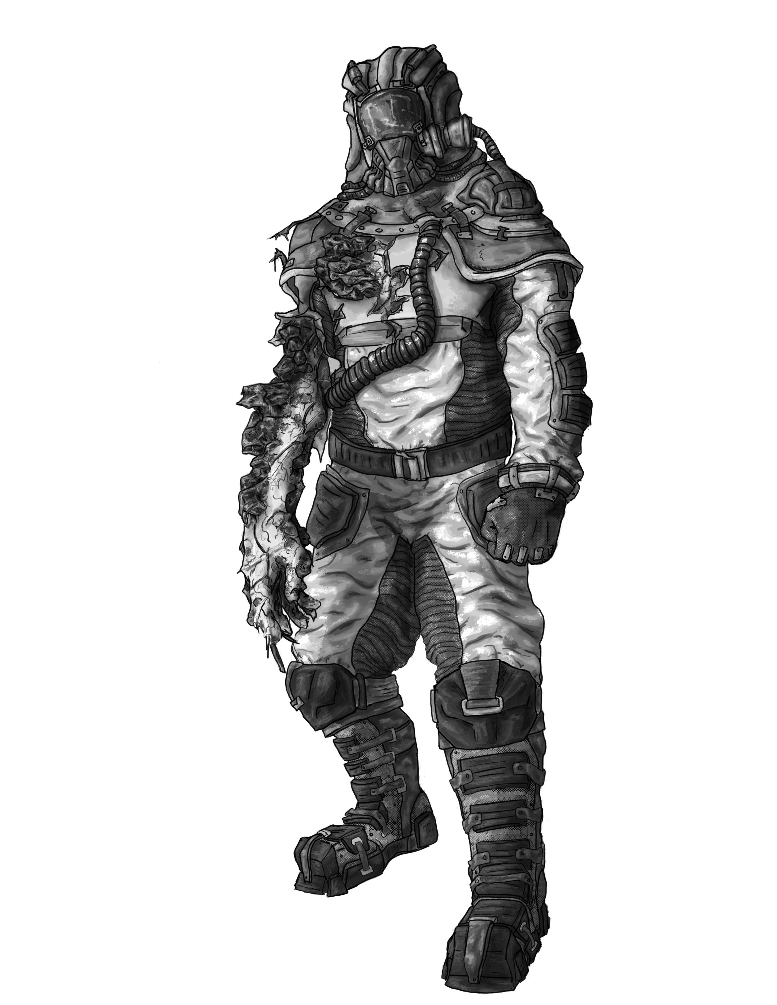 Enemy Scientist - Higher Level Hazmat