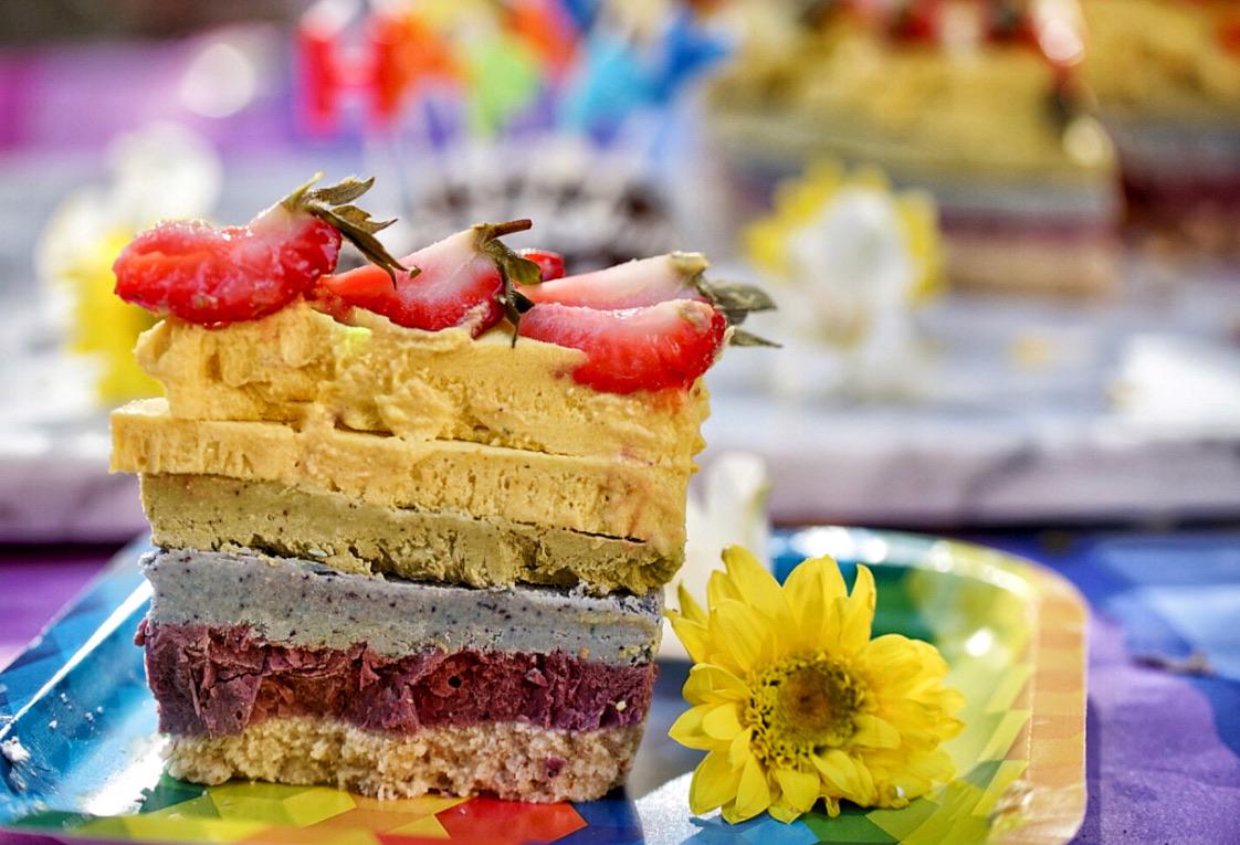 CBD Rainbow cake Kyrious