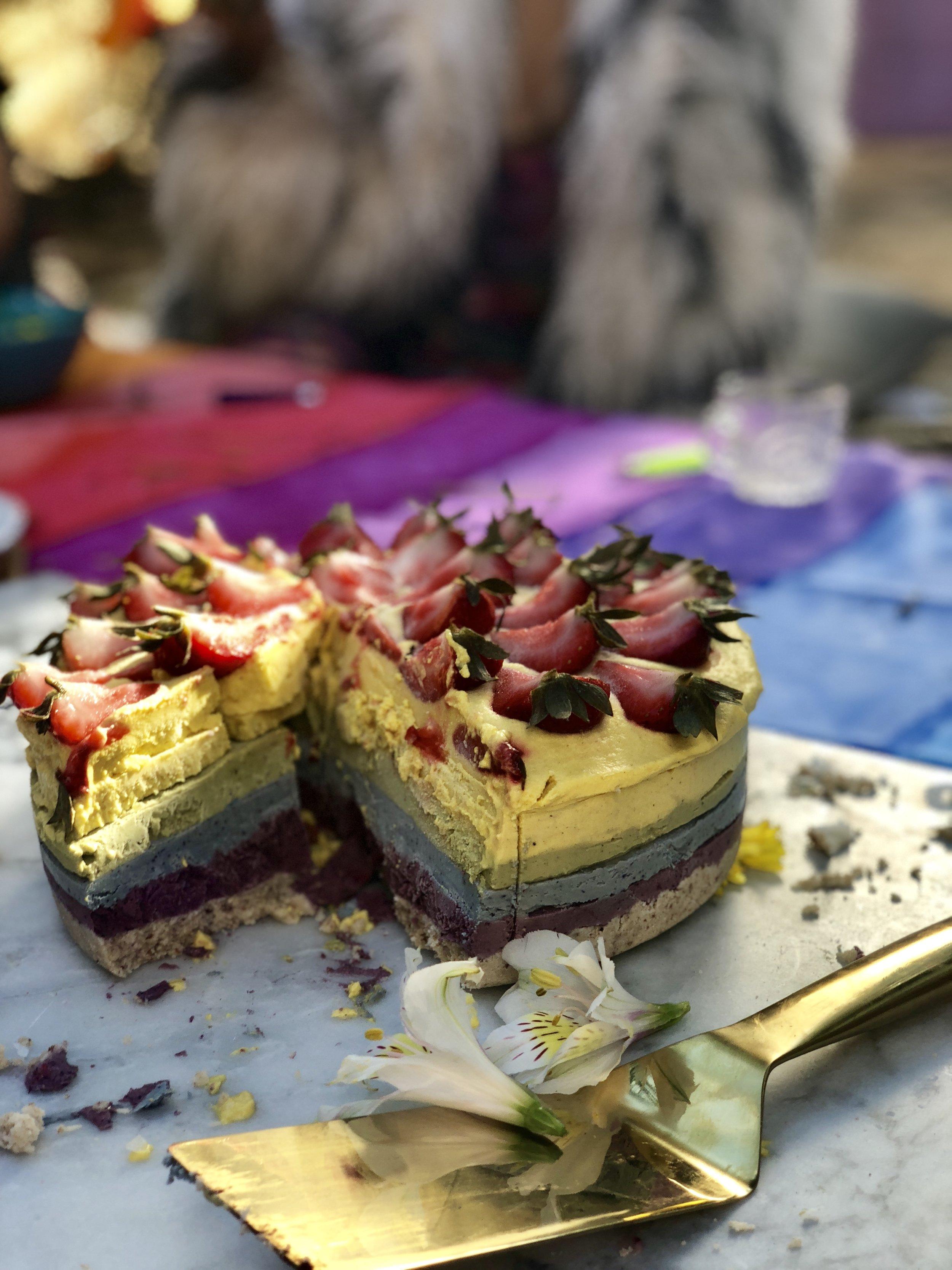 Kyrious Rainbow Cake