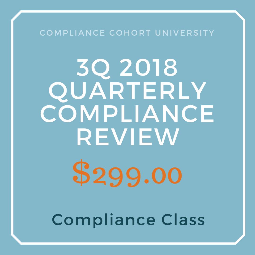 3Q2018 Regulatory Compliance Review $299.png