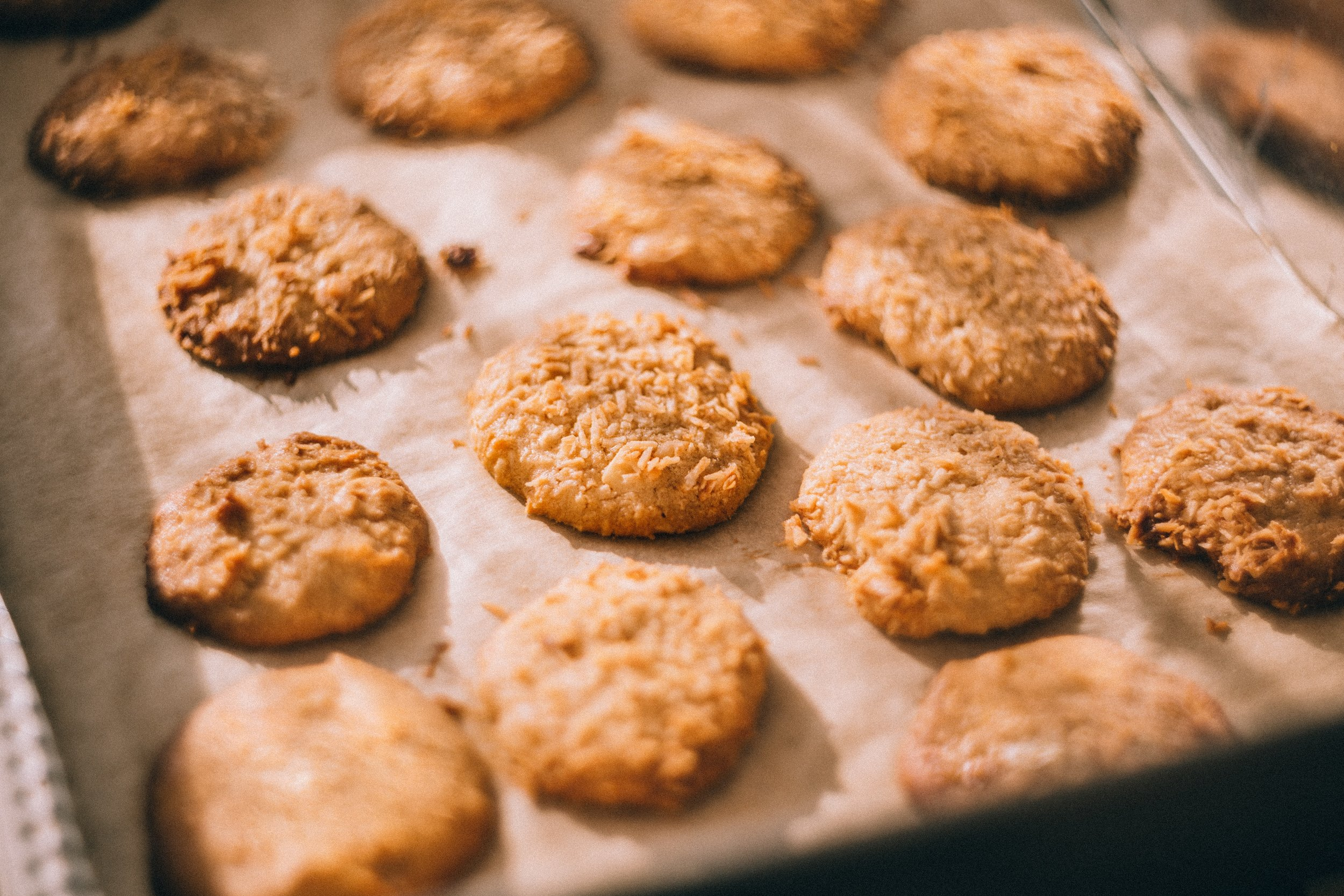 4. for a hostess - Bring this healthy teff, ginger, and black pepper cookies, from Kate O'Donnell, chef, and author of The Everyday Ayurveda Cookbook. They go great with the ginger in our limited edition Comfort and Light Candle.