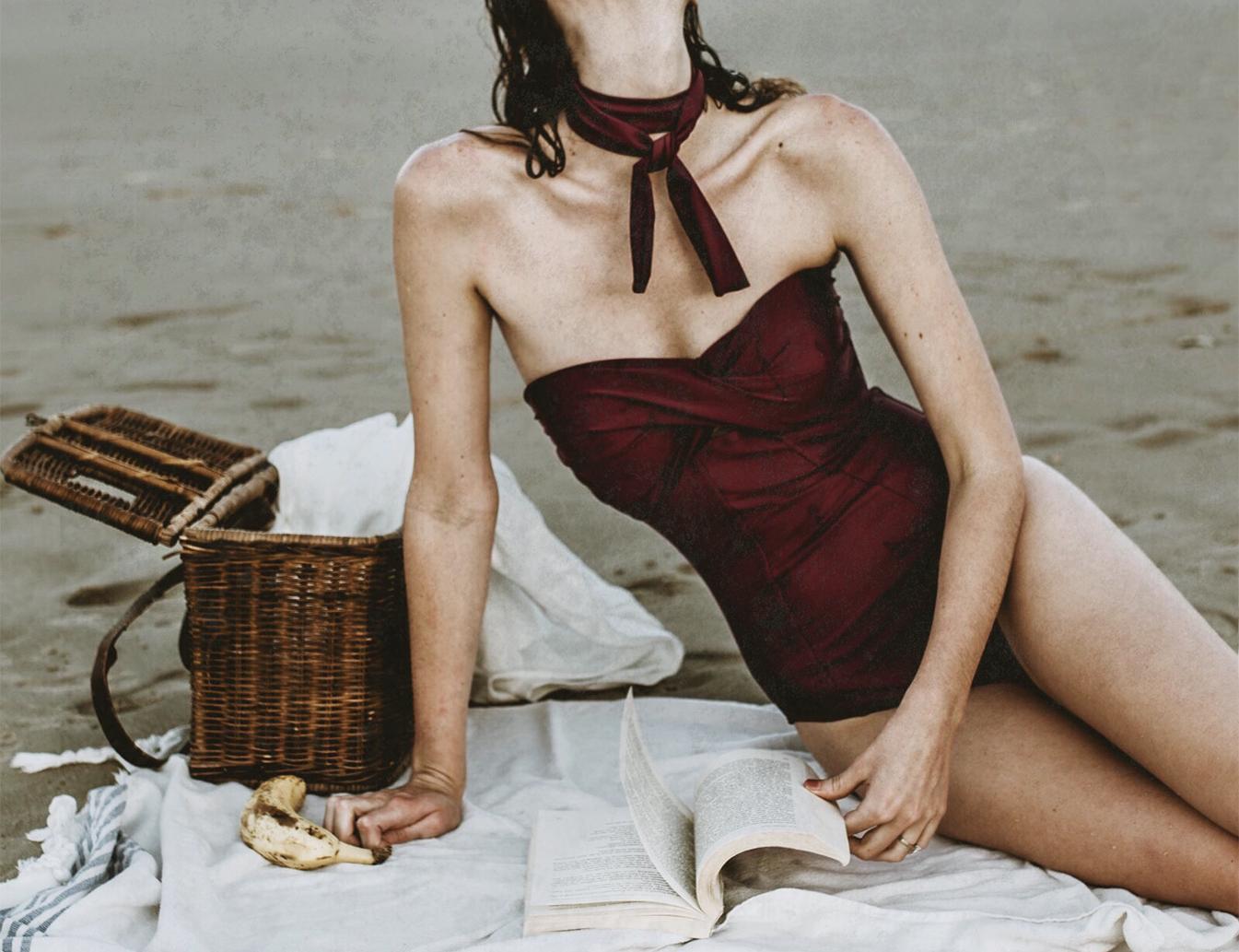 Contessa volpi handmade swim -