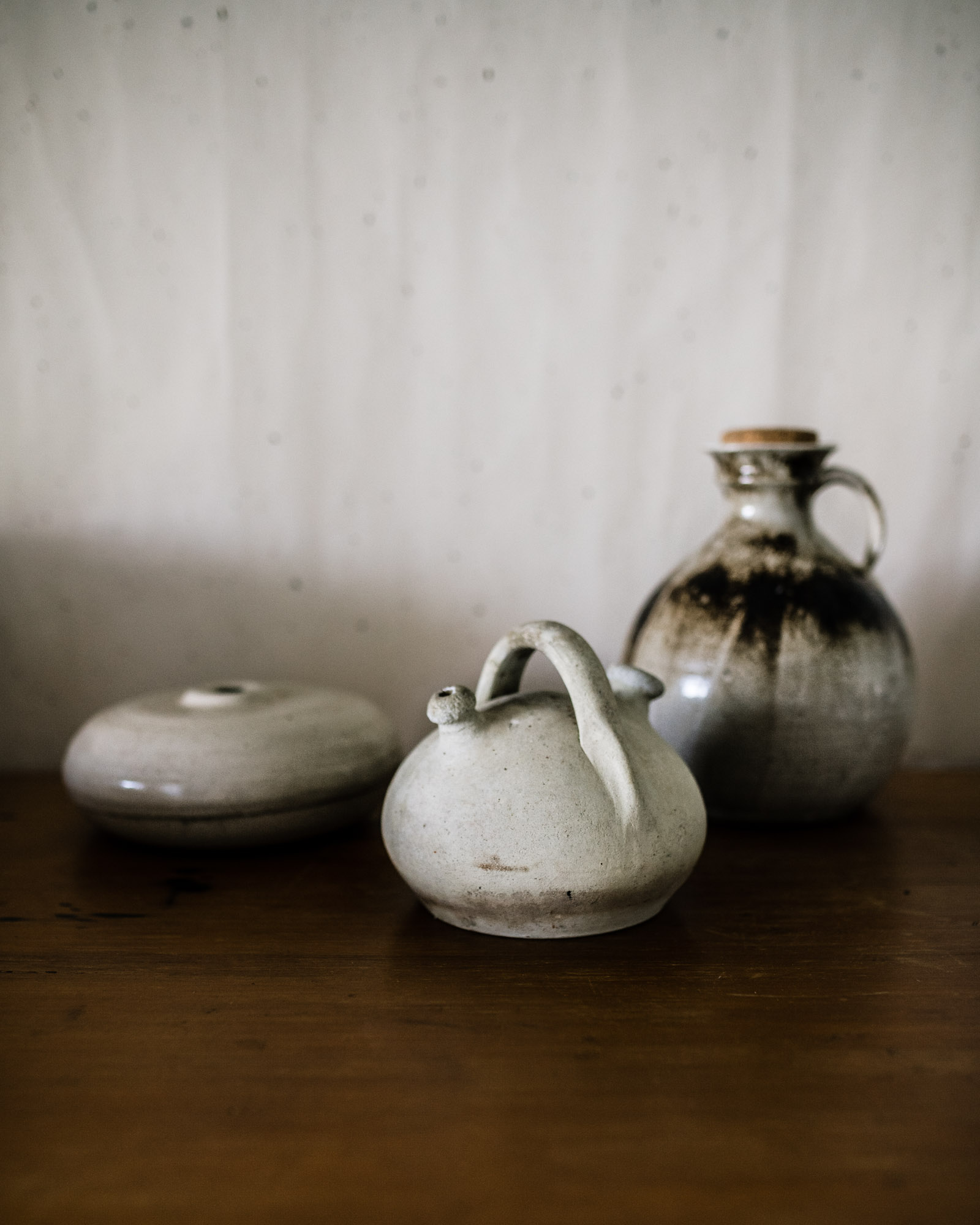 clay syling pieces - new to the antique store -