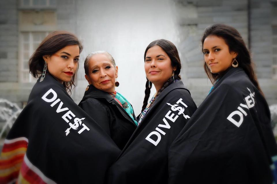 Indigenous Women's Divestment Delegation, October 2017.