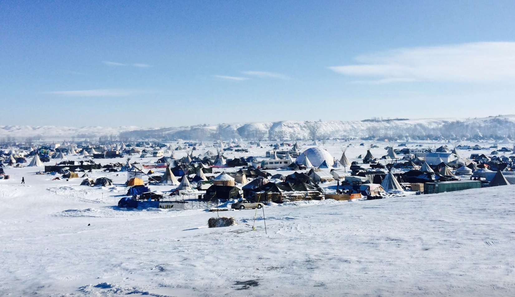 Oceti Sakowin Camp, Standing Rock, North Dakota, December 2016.