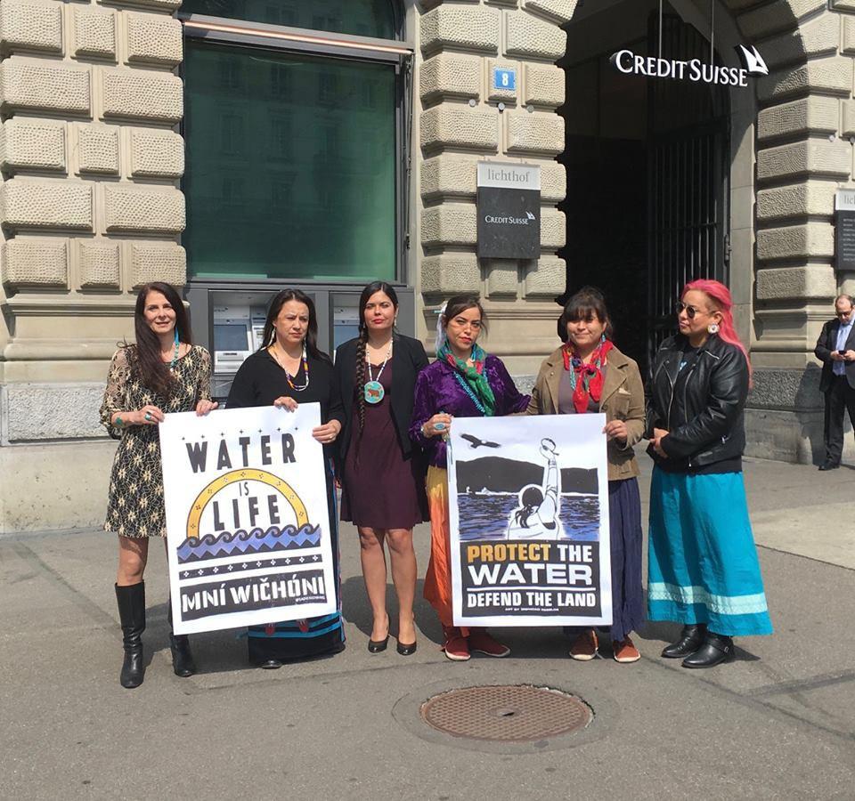 Indigenous Women's Divestment Delegation, March 2017.