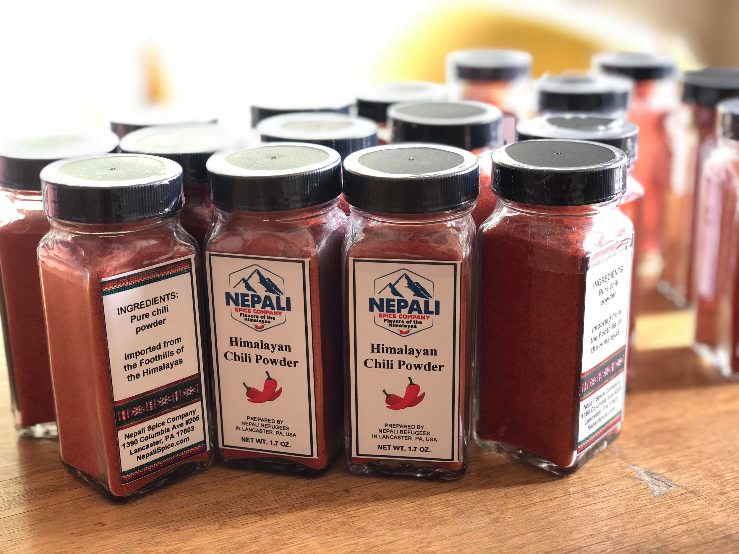 Chili powder can also be known as chili pepper, or cayenne pepper. It is used in many different cuisines to add flavor and pungency to dishes, including Tex-Mex, Indian, Chinese, Korean, and Thai. Chili powder is also known to have several health benefits, including red blood cell formation, maintaining healthy blood pressure, digestion, fighting infections, and is good for the hair and skin. We offer ground chili powder, sourced from the foothills of the Himalayas in Nepal.