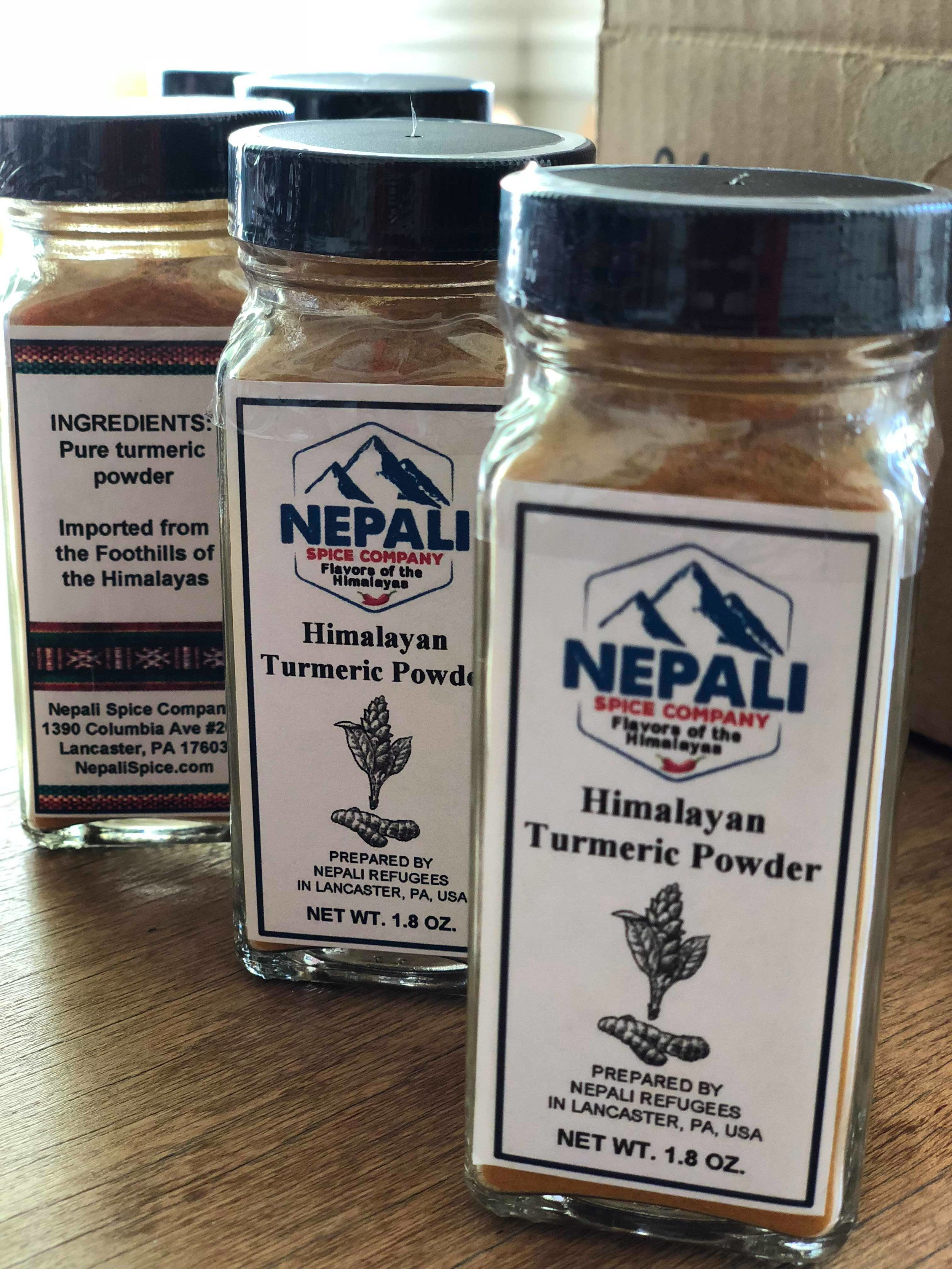 Turmeric's mild, warm, and peppery taste is commonly used for vegetable sautés, rice, soups, tea, smoothies, and even eggs. It is a key ingredient in curry and other southern Asian cuisines. Turmeric also contains special medicinal value and is traditionally used in Ayurvedic medicine for many conditions, such as asthma, rheumatologic conditions, pain, and fatigue. Today, it is also commonly used as a dietary supplement for inflammation, arthritis, stomach, skin, liver, and gallbladder problems, and cancer.  Turmeric's underground stems (rhizomes) are dried and made into capsules, tablets, teas, or extracts.  Turmeric grows in southern Asia and Central America. We offer ground turmeric, sourced from the foothills of the Himalayas in Nepal.