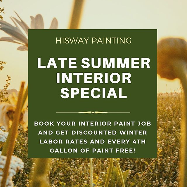 Its not Pumpkin Spice Latte time, yet...We have extended our (Late) Summer Interior Special until October 15. You can book interior jobs with our Discounted Winter labor rates, and when purchasing three gallons of wall paint, we'll throw in the fourth one for free. . . . #paintingspecial #interiorstyling #myhomevibe #nashville #homerenovation #nashvilletn #franklintn #brentwoodtn #interiordesign #housepainting #interiorstyling #modernhome #housebeautiful #nashvillepainter #nashvillehousepainter #nashvilleinteriors #franklinrealestate #instahomedecor #luxurynashville #homestyle #interiorpainting #2019 #colorinspiration #homedecor #interiordesign #foyerdesign #sherwinwilliams #colorinspo