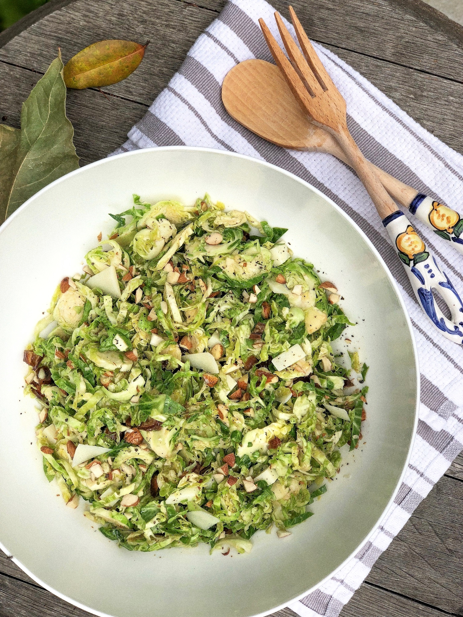 Katie Lee Shaved Brussel Sprouts Salad