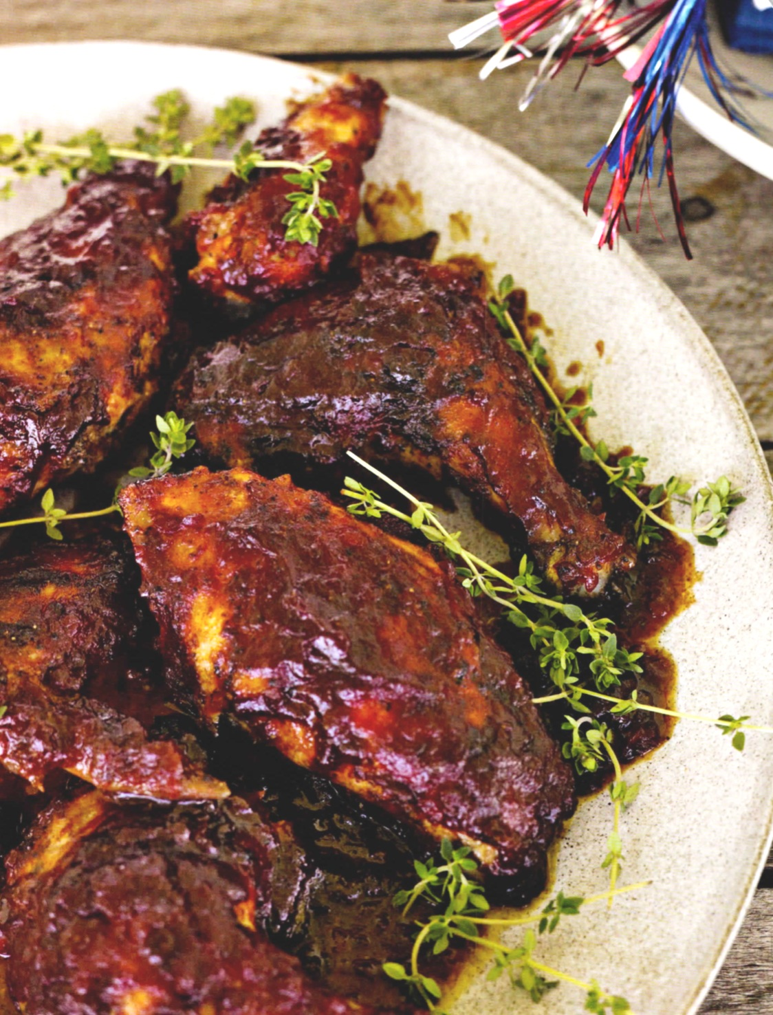 8 TO 10 SERVINGS     PREP TIME : 15 MINUTES   INACTIVE PREP TIME : 1 TO 2 HOURS   COOK TIME : 10 MINUTES ON THE GRILL AND 45 MINUTES IN THE OVEN