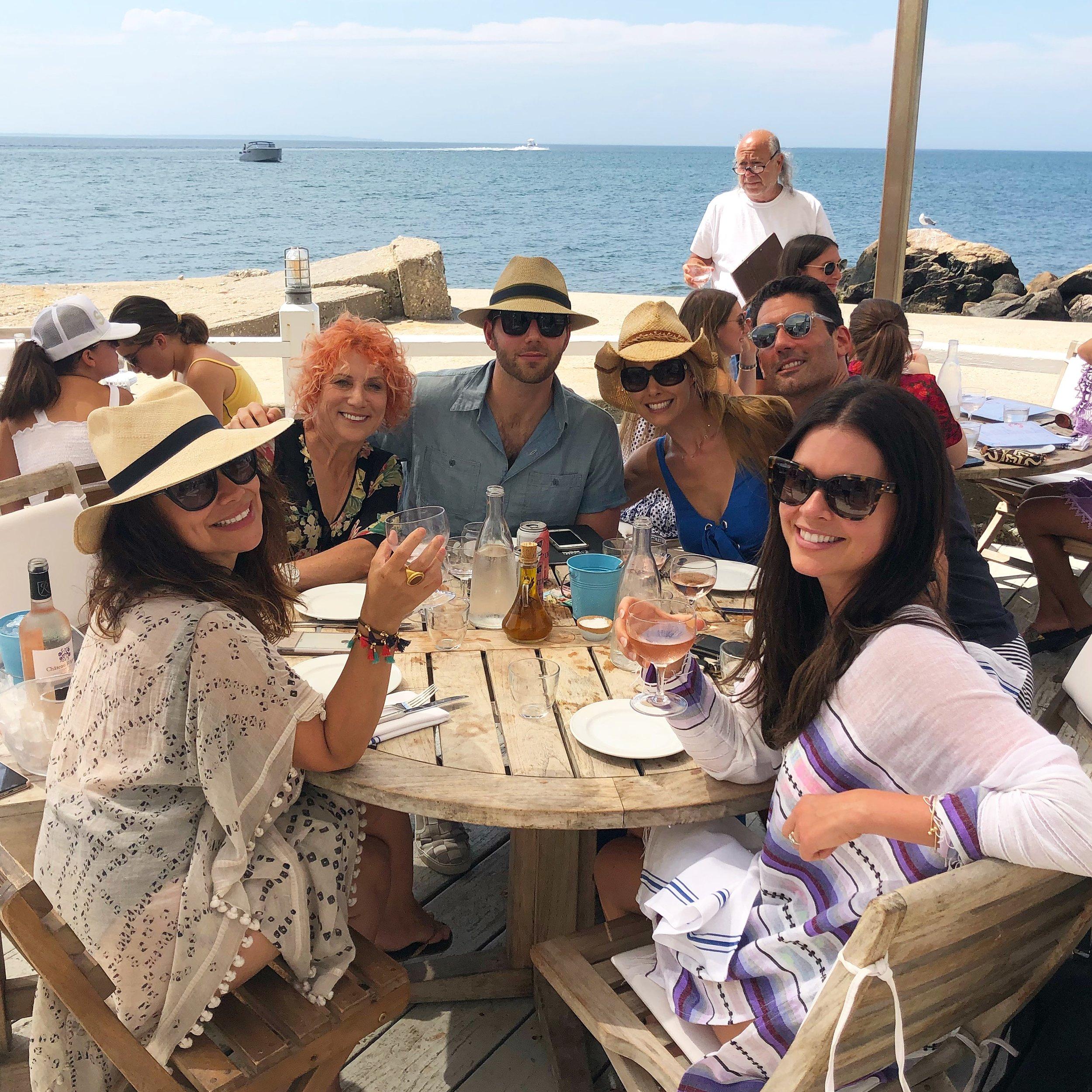 Duryea's with Friends