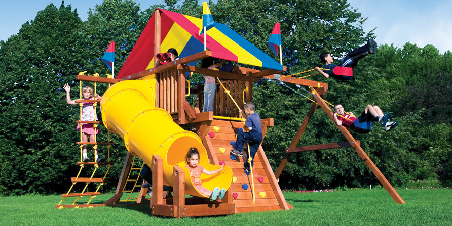 Small Yard Solutions Backyard Fun