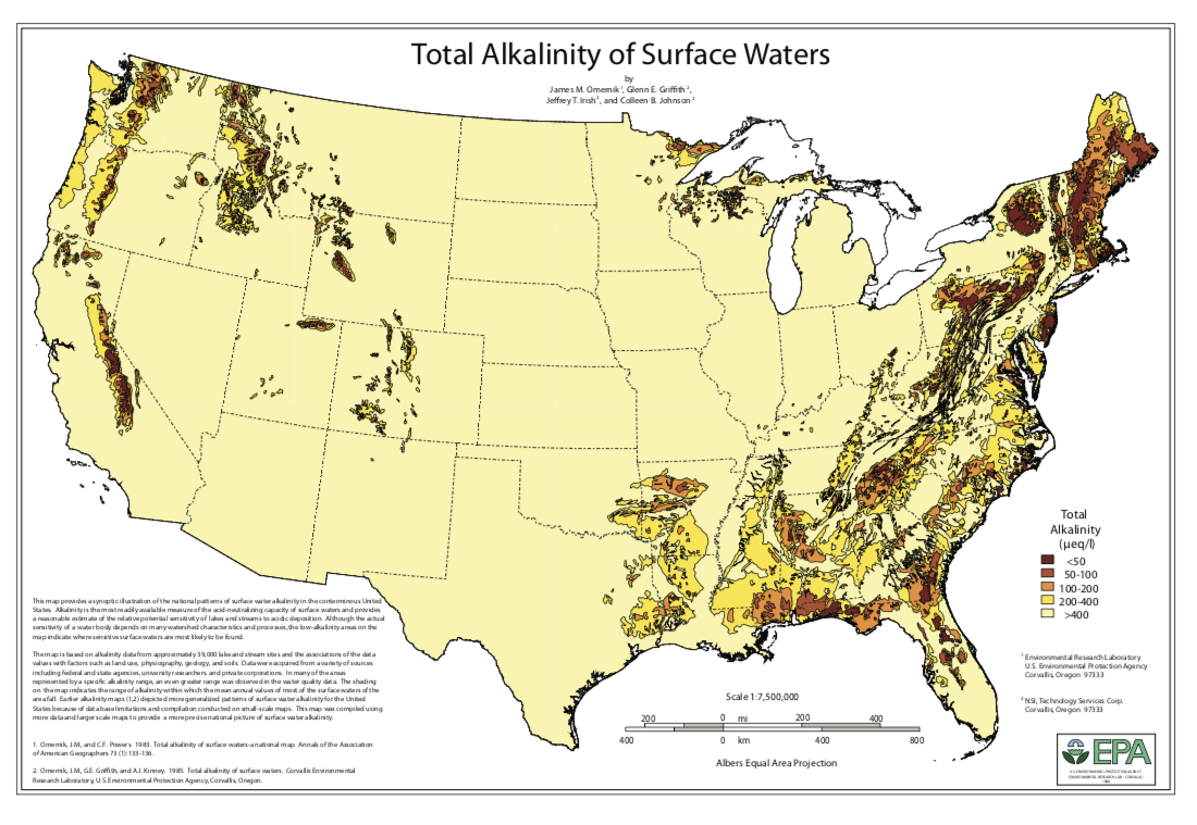 Credit:  US Water Quality Information