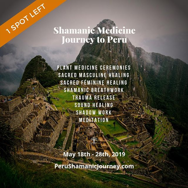 Want to come with us to Peru in May? ONE spot left!