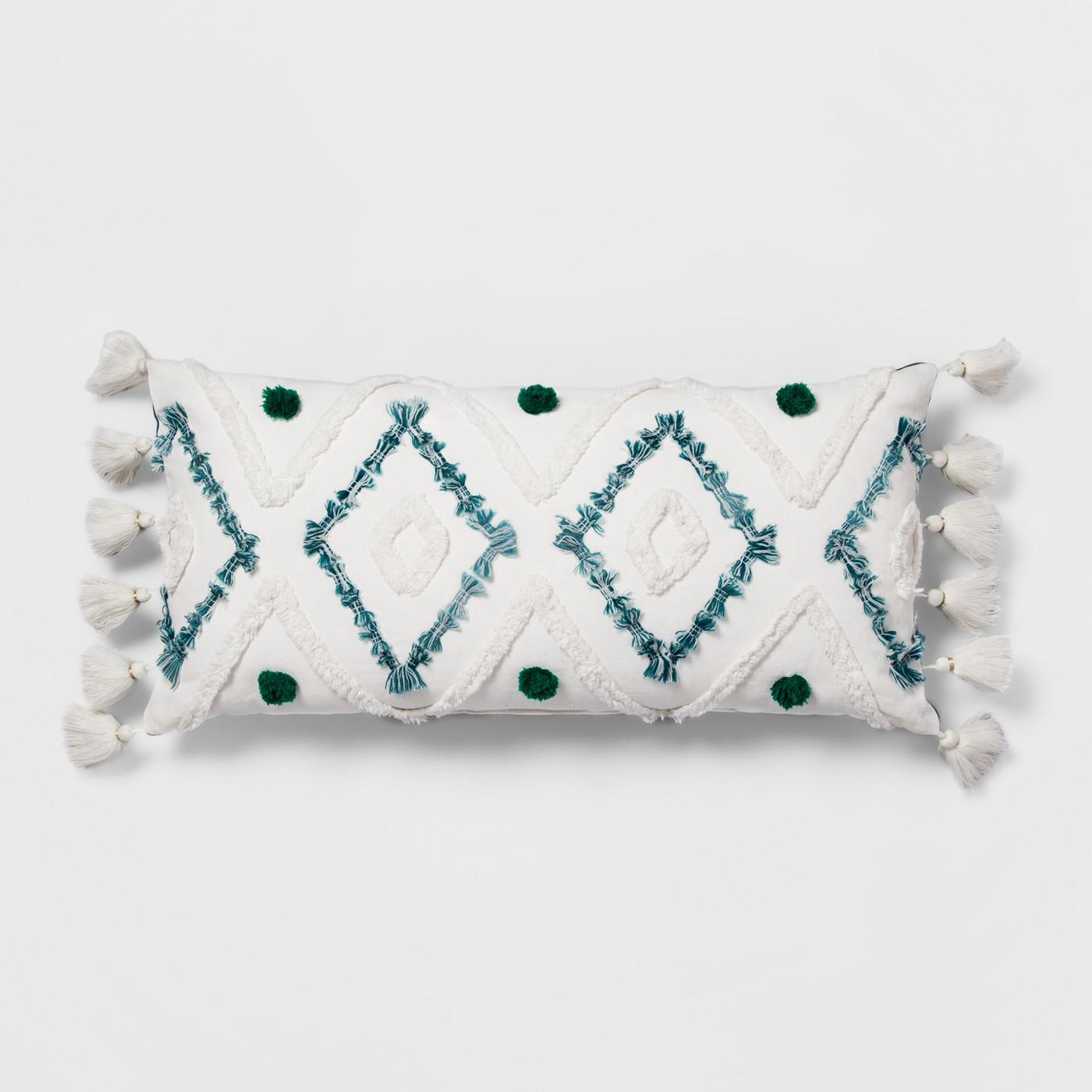 Target - Diamond Tufted Lumbar Pillow - Opalhouse™