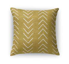 All Modern - Bemelle Mud Cloth Throw Pillow with Double Sided Print