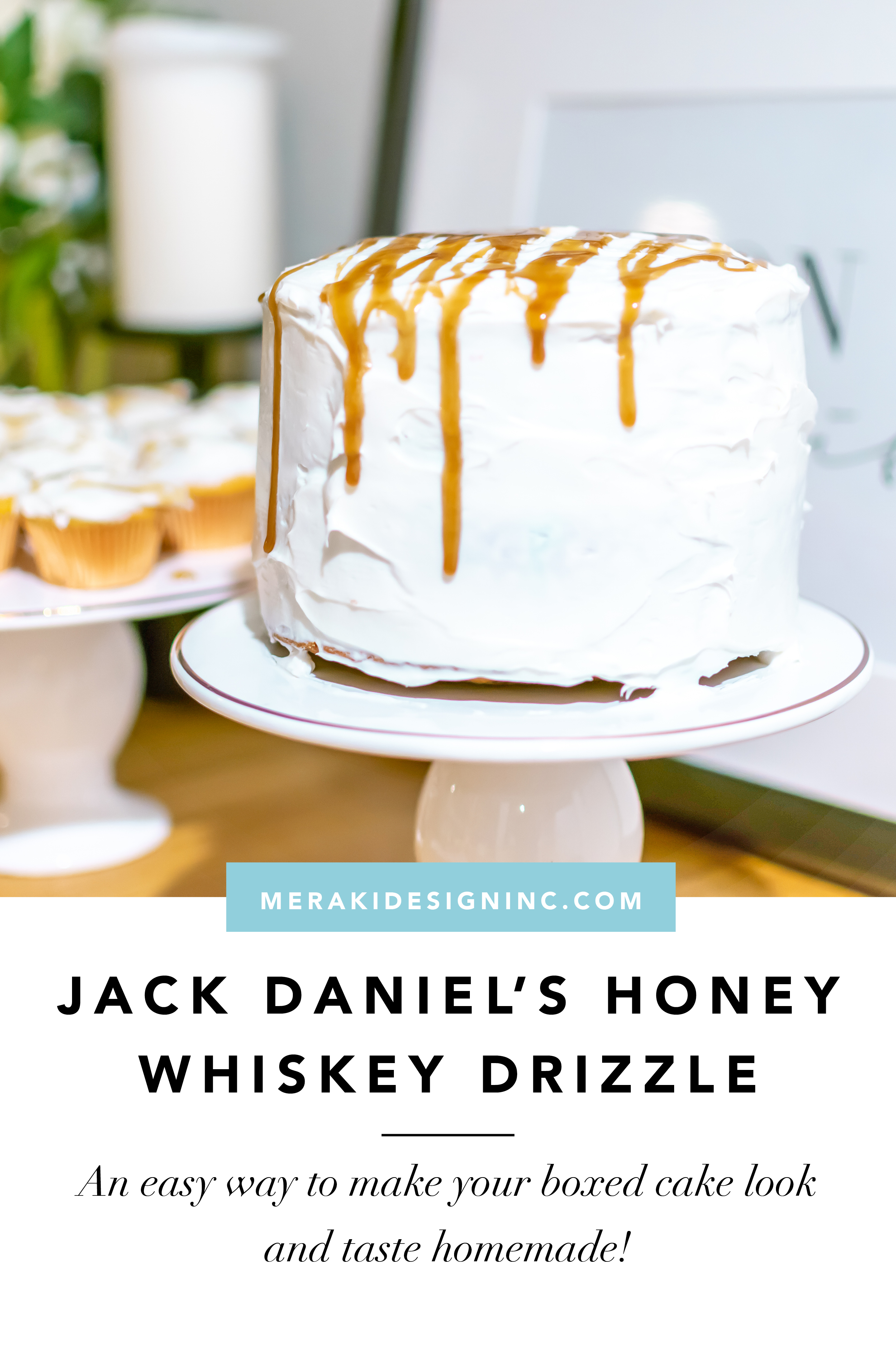 how to make honey whiskey drizzle
