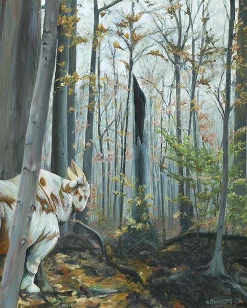 Maybe Sparrow / Fallen Trees  copyright Sarah Soward.