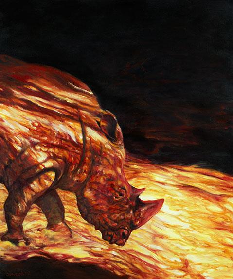 Hot Lava copyright Sarah Soward.