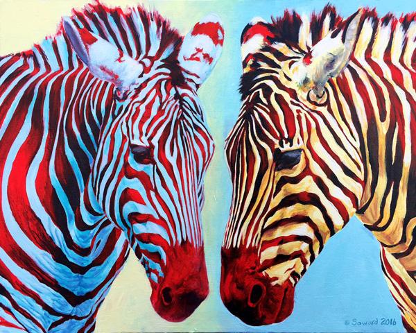 Communal Stripes copyright Sarah Soward.