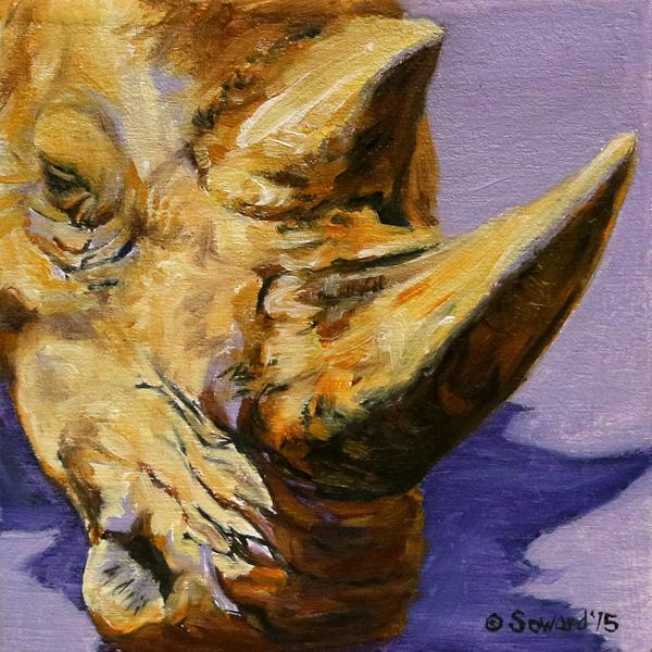 Kruger Rhino copyright Sarah Soward.