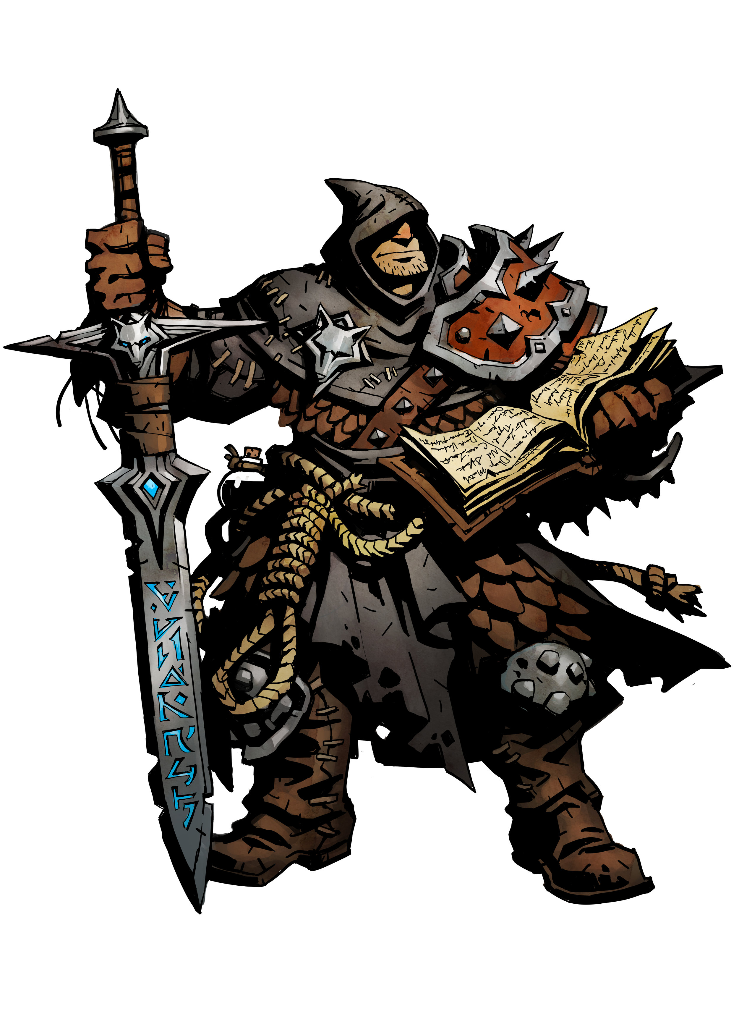 RIGHTEOUS EXECUTIONER FAQ - Q: If I am hanged, how do I break free?A: Player must spend one movement speed from a movement action to cut themselves from the noose. While hanged, they cannot move or attack. If they don't free themselves from the noose, they will take a damage at the end of their turn.Q: What happens when I bury someone that is hanged by the Executioner?A: They are broken from the noose and are now buried.