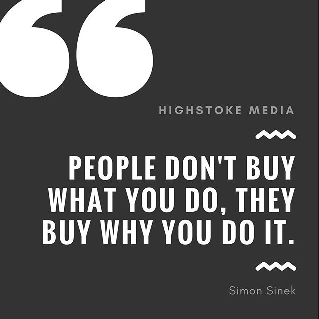 What's your why⁉️ #highstokemedia