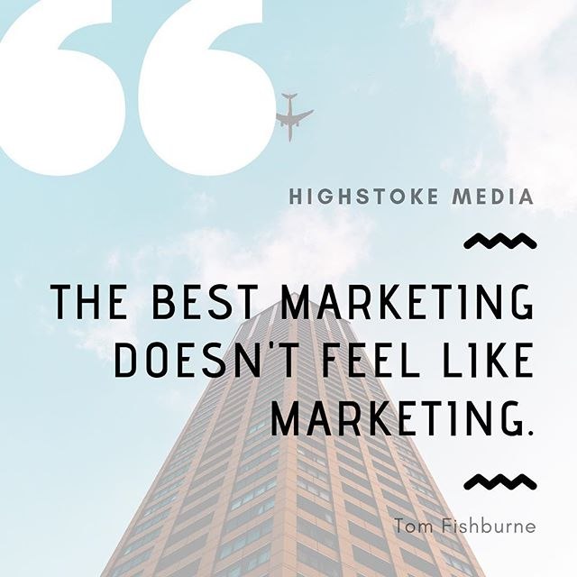 Start connecting with your audience on a whole new personal level. #highstokemedia