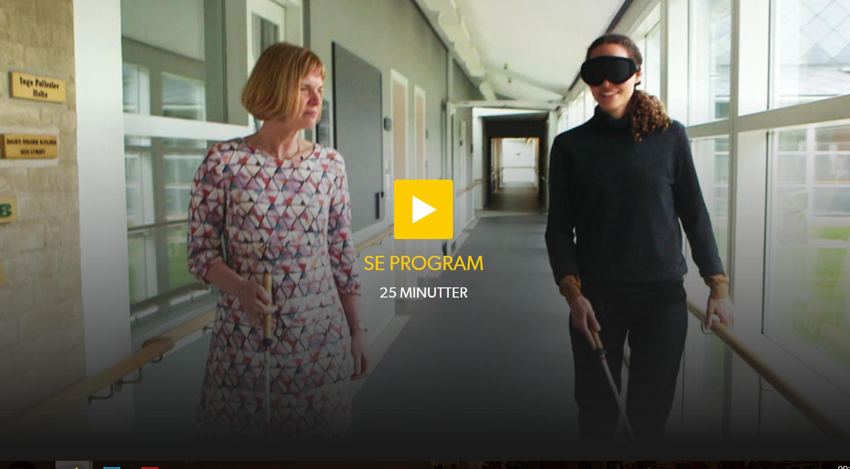 Link til afsnit af Sundhedsmagasinet, om blindhed